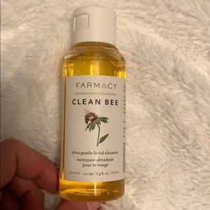 Farmacy, clean bee gentle facial cleanser!